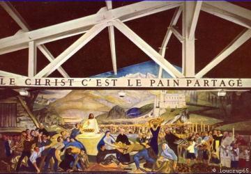 """""""Le Christ,  c'est le pain partagé"""""""