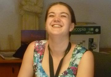 Marie, jeune rennaise de 19 ans, bénévole pendant 3 semaines à la Cité Saint Pierre