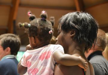 toutes les familles sont accueillies à la Cité Saint-Pierre à Lourdes