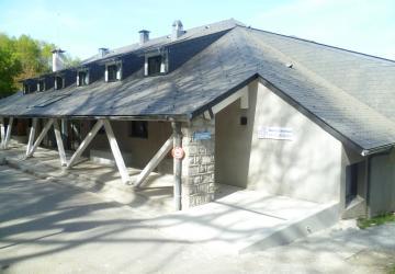 Pavillon Saint Jacques rénové à la Cité Saint-Pierre à Lourdes en avril 2014