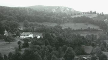 Propriété de l'emplacement de la Cité Saint-Pierre de Lourdes avant 1955