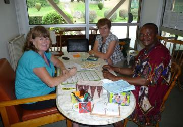 l'hébergement en pavillon à la Cité Saint-Pierre à Lourdes, permet à ceux qui le souhaitent, de vivre la rencontre
