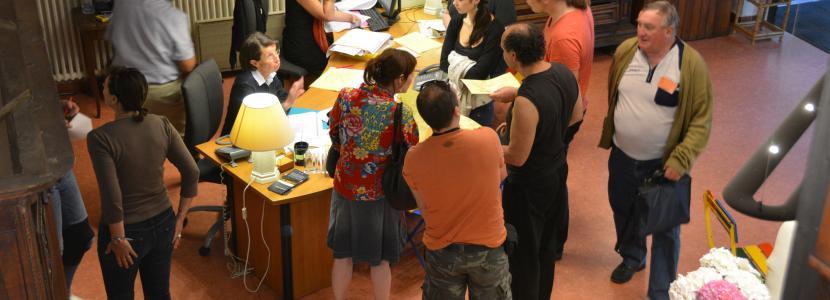 Le service d'accueil de la Cité Saint-Pierre à Lourdes