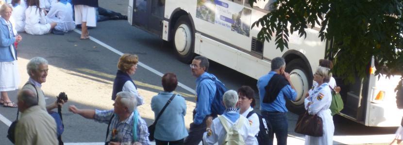 accueil de différents groupes à la Cité Saint-Pierre à Lourdes