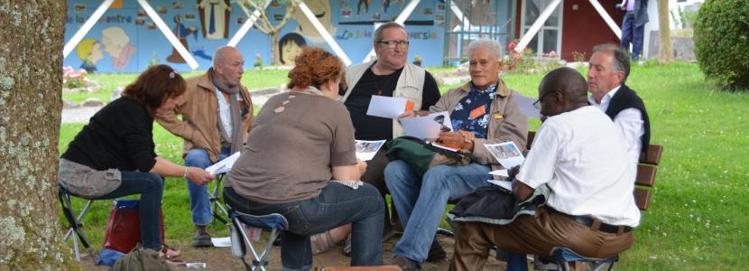 A la Cité Saint-Pierre à Lourdes, des temps de travail en groupes sont possibles en salle ou en pleine nature
