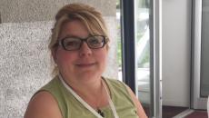 Patrizia, bénévole italienne en pavillon